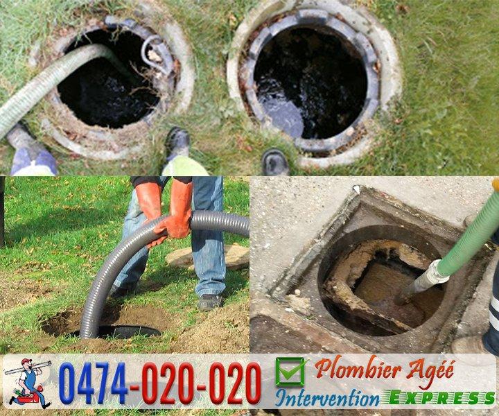Nettoyage, curage et vidange de fosse septique