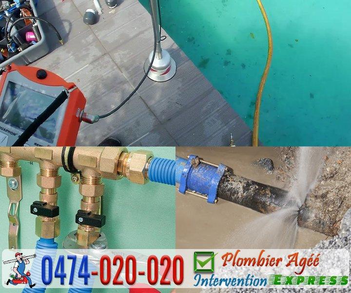 Plomberie recherche et réparation de fuite d'eau