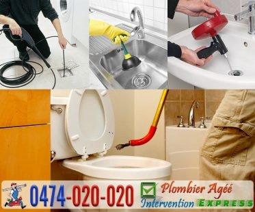 débouchage canalisation WC lavabo évier cuisine