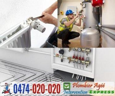 Installation des système chauffage et chaudière